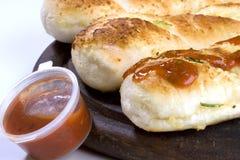Knoblauch-Brot Stockbild