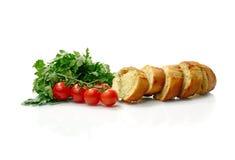 Knoblauch-Brot Lizenzfreie Stockfotos
