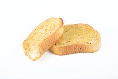 Knoblauch-Brot Stockfotos