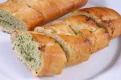 Knoblauch-Brot Stockbilder