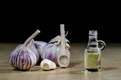 Knoblauch das beste Besondere für Grippe Der Sirup, der aus zugebereitet wird, heilen Lizenzfreies Stockbild
