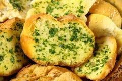 Knoblauch-und Kraut-Brot Lizenzfreies Stockfoto