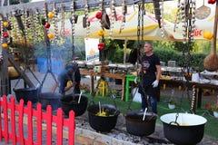 Knoblauchfestival Lizenzfreie Stockfotos