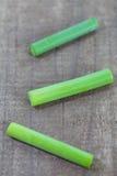 Knoblauchlauch oder -porree lizenzfreie stockbilder