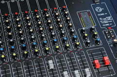Knobs and Sliders Stock Images