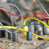 Knobs And Wires Stock Photo