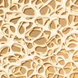 Knochenstruktur osteoporose Medizinischer Hintergrund stock abbildung