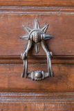 Knock door star Royalty Free Stock Images