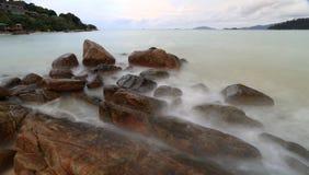 knock-out LIPE op November 2014, het Nationale Park van Tarutao, Satun, Zuiden van Stock Afbeelding