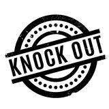 Knock Out rubber stamp Stock Photo