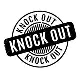 Knock Out rubber stamp Royalty Free Stock Photo