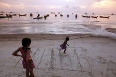 KNOCK OUT TAO ASIENS THAILAND Lizenzfreies Stockbild