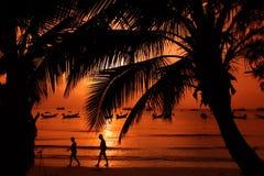 KNOCK-OUT TAO DE L'ASIE THAÏLANDE Image libre de droits