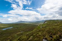 Knockan Crag in Scotland Royalty Free Stock Photo