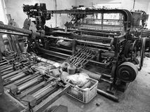 Knockando Woollen Mill  Machinery Highlands of Scotland Royalty Free Stock Image