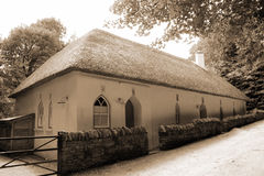 Knockanore thatched royalty free stock photography