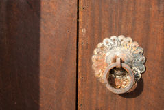 Knocke indien traditionnel de porte Images stock