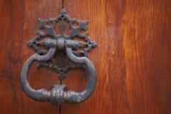 knocker двери старый стоковая фотография