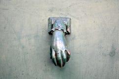 Knocker на двери Стоковое Фото
