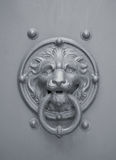 Knocker. A lion head-shaped door knocker Royalty Free Stock Images