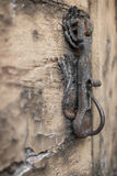 Knocker and decay Stock Photo