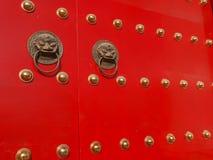 Knocker door Stock Photography