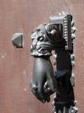 Knocker door hand Royalty Free Stock Images