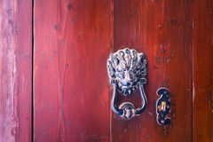 Knocker at the door in Malta. Knocker at the door in Mdina, Malta Royalty Free Stock Photos