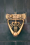Knocker front door of the house Maltese Stock Images