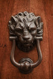Knocker lion's head Stock Image
