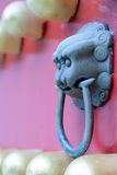 Knocker. The Ming Tomb is the tomb of Zhu Yuanzhang, first emperor of the Ming Dynasty.The construction system of the Ming Tomb initiated a standard fooloed by Royalty Free Stock Images