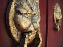Knockers on a door Stock Image