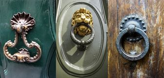 Knockers in florence Royalty Free Stock Photo