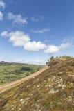 Knockfarrel hill near Strathpeffer in Scotland. Royalty Free Stock Photo
