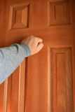 Knocking. Stock Photography
