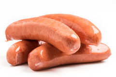 Knockwurst german sausages Stock Photo