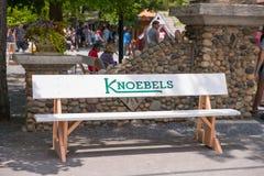 Knoebels ist ein FreiaufnahmeVergnügungspark für Familien stockfotografie