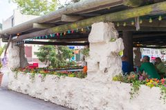 Knoebels ist ein FreiaufnahmeVergnügungspark für Familien stockfotos