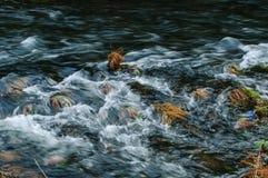 In knoei rivier Royalty-vrije Stock Afbeeldingen