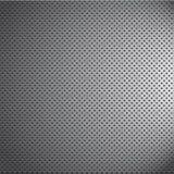 Knoei van de het patroontextuur van het chroommetaal het netkoolstof Stock Foto