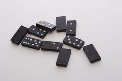 Knoei van domino's Royalty-vrije Stock Foto