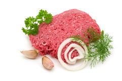 Knoeiboel en ingrediënten stock afbeeldingen