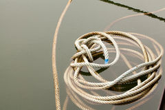 Knoeien-op bind kabel royalty-vrije stock foto's