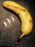 Knoflook en banaan Stock Afbeeldingen