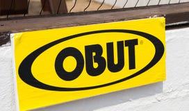Knokke/België - 04 08 18: Spel beste Frankrijk van het Obut het eerste merk petanque royalty-vrije stock foto