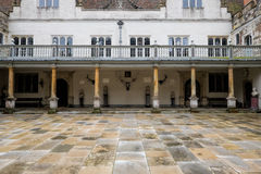 Knole House Courtyard Royalty Free Stock Photography