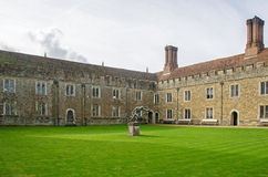 Knole House Outer Courtyard Stock Photography