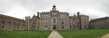 Knole house, Sevenoaks, Kent, England Royalty Free Stock Photo