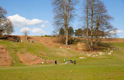 Knole local golf club. England Stock Photography