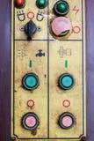 Knoop aan-uit- controle Stock Foto